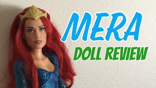 aquaman Mera Doll Review // Sailor V Doll Customs #Mattel #Mera #Aquaman