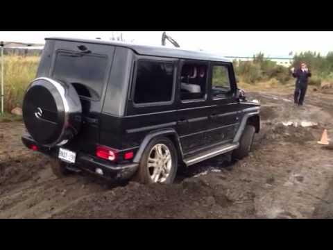2013 mercedes benz g550 off road bc youtube - 2013 Mercedes Benz G550