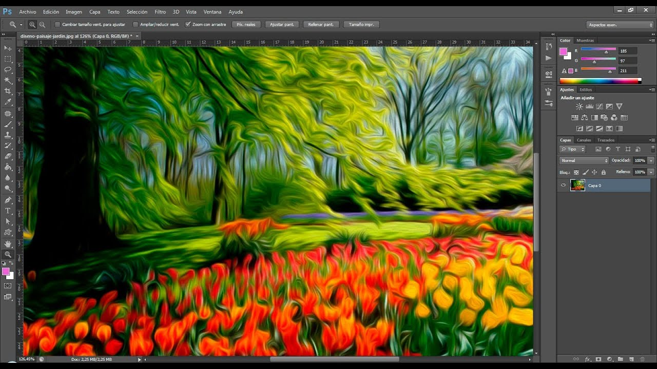 how to add border on adobe photoshop cs6