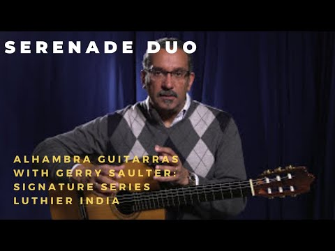 Alhambra Luthier India Signature Guitar