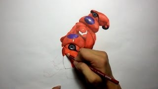 Big Hero 6:  Drawing Baymax