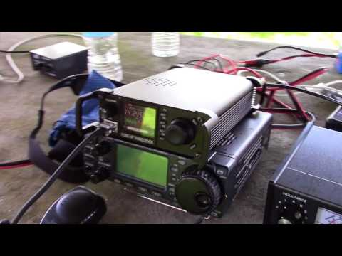 Xiegu X108G HF Transceiver Review On-Air Test HF Radio