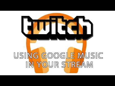 Using Google Music In Your Stream (with artwork/title/song displayed)