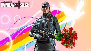 MAKE PEACE NOT WAR!!! - Tom Clancy's Rainbow Six Siege (4K)