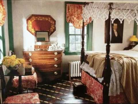 Colonial Williamsburg Interior Decorated Homes  YouTube