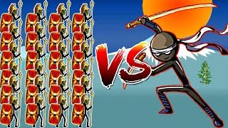 Stick War Legacy - Insane Spearton Avatar Vs Crazy jay