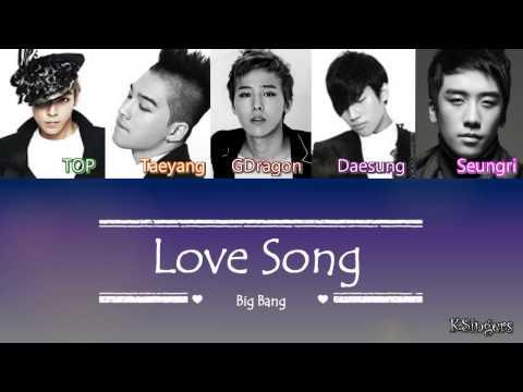 Big Bang - Love Song | Sub (Han - Rom - Español) Color Coded Letra