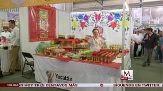 Feria  de artesanías yucatecas en CdMx