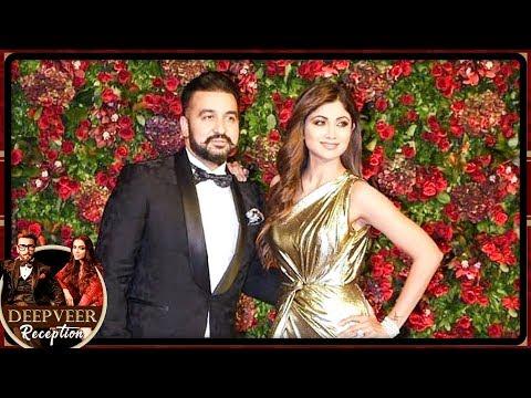 Shilpa Shetty Arrives With Husband Raj Kundra At Deepika Ranveer Mumbai Reception Party 2018
