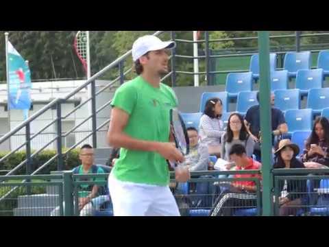 Feliciano Lopez practice in Shanghai Master 09/10/2016 #2