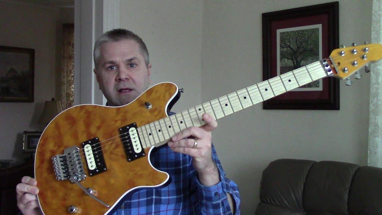 Music Man Evh Wolfgang Wiring Diagram Electrical Diagrams Pickup Byo Guitar Quilted Top Kit Final Build Update Youtube Yamaha