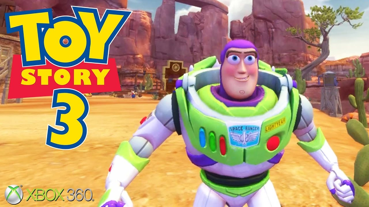 All Toy Story 3 Games : Toy story the video game xbox ps gameplay