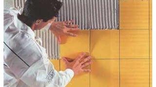 Укладка ПЛИТКИ на стену своими руками