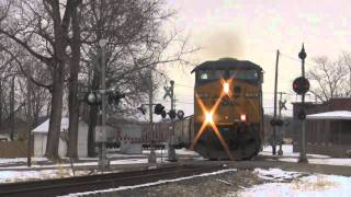 Indiana Southern, NS, and CSX action all in one day-Part 2
