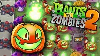 Plants vs Zombies 2 - JACK O' LANTERN na HALLOWEEN