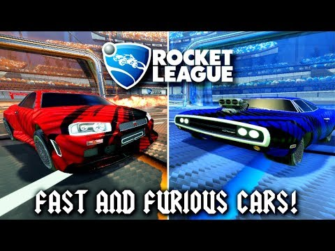 Which Car Is Better?! | BRAND NEW NISSAN SKYLINE GTR AND DODGE CHARGER CAR IN ROCKET LEAGUE!