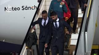 La Selección española de fútbol ya está en Rusia para la Copa del Mundo