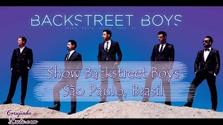 Show da turnê do Backstreet Boys no Brasil