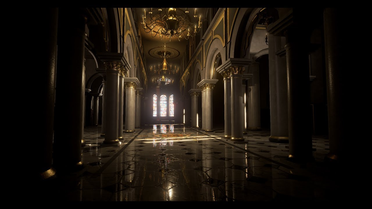 Making Of Palace Interior 3ds Max Unreal Engine Tutorial Part   1