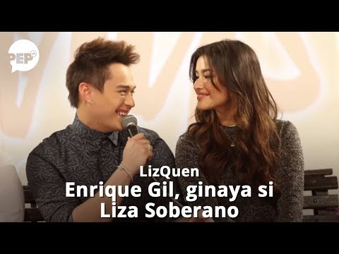 HOW CUTE! Watch Enrique Gil try to imitate the way Liza Soberano talks