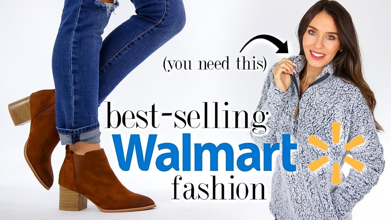 [VIDEO] - 10 BEST-SELLING Clothes & Shoes from Walmart! *must-haves* 1