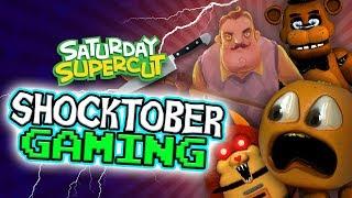 Annoying Orange - Best Shocktober Horror Gaming!!!