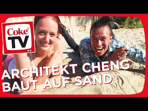 Sandburgen bauen mit Cheng und Mona | #CokeTVMoment
