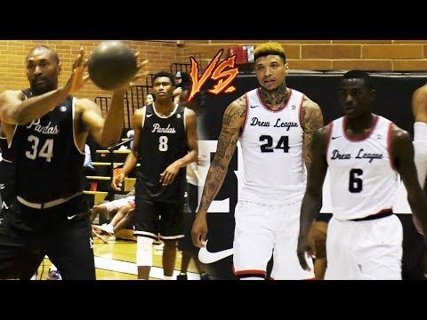 Metta World Peace & Ron Artest III VS Drew League MVP - Pandas VS Birdies Revenge FULL HIGHLIGHTS