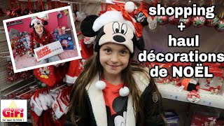 SHOPPING + HAUL Décorations de NOËL - Disney - Gifi