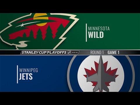 Minnesota Wild vs Winnipeg Jets (2-3) – Apr. 11, 2018 | Game Highlights | NHL 2018