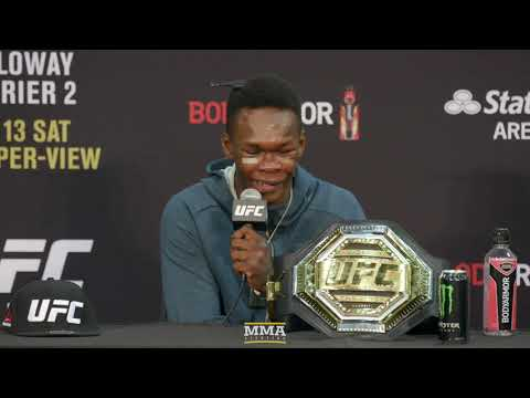 UFC 236: Israel Adesanya Post-Fight Press Conference - MMA F