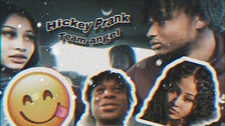 Team Angel😇 ....Hickey Prank On Ray Ray (Hilarious😂😡)