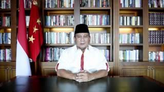Pesan Video Prabowo Subianto   25 Juli 2014 thumbnail