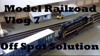 Model Railroad Vlog 7 - N Scale Off Spot Switching Solutions