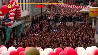 pSV Eindhoven Dutch Champion 2018 celebration