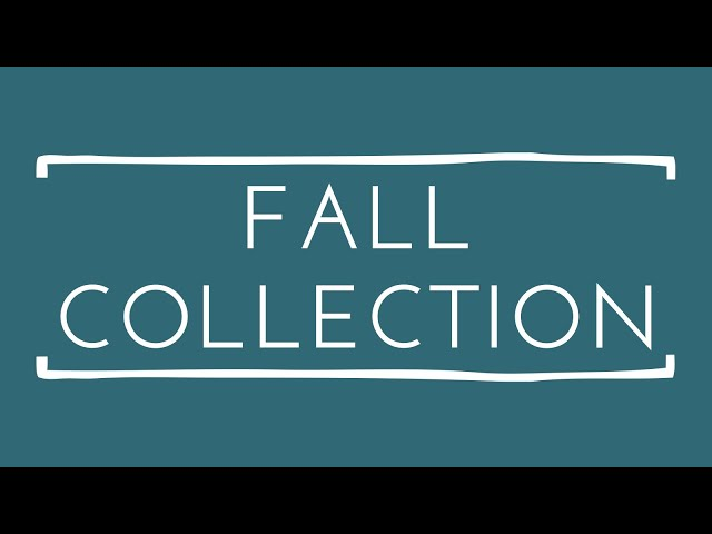 Sincere Surroundings Fall Collection