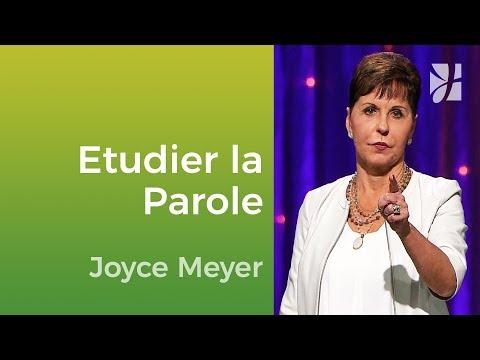 Pourquoi devons-nous étudier la Parole de Dieu au quotidien ? - Joyce Meyer - Vivre au quotidien