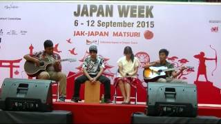 Raw Tomato - 遠雷 Enrai ( Do As Infinity cover) @ Japan Week Jak Japan Matsuri 2015