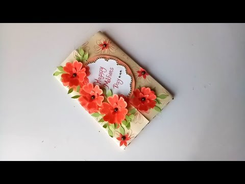 Mothers Day card making idea...//DIY Mothers Day Card//