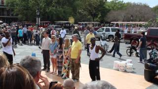 Calypso Tumblers show @ Jackson Square in New Orleans part 2
