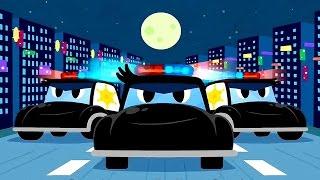 Мультики про машинки. Полицейская машинка ловит бандитов. Мультфильмы про  машинки