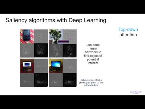 eLab Attention and Saliency with Deep Learning