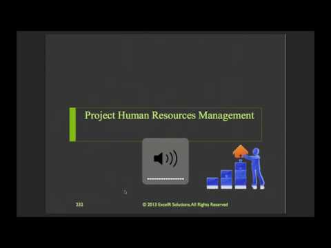 Human Resources Management In a Project
