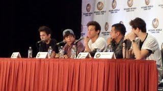 The fam tour panel