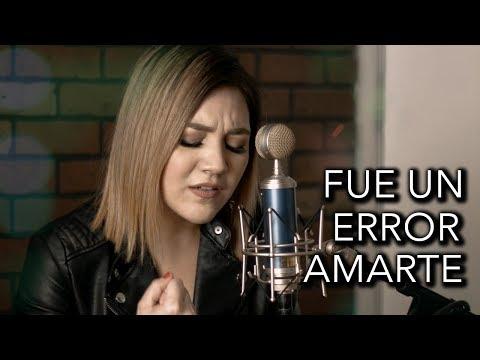 Fue un error amarte - Cornelio Vega / Cover Marián Oviedo