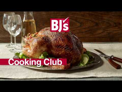 BJ's Cooking Club: Turkey Techniques With Chef Glenn