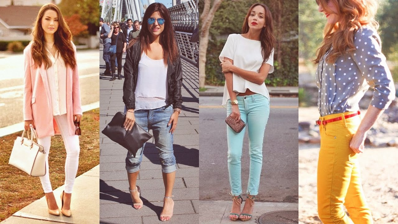 Outfits Casuales De Moda 2017 Ropa Para Mujeres Juveniles Youtube