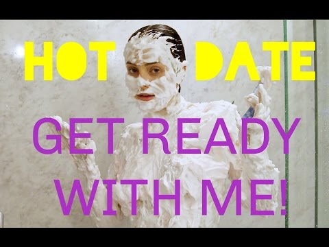 Get Ready With Me for my HOT DATE!!!!!!!!