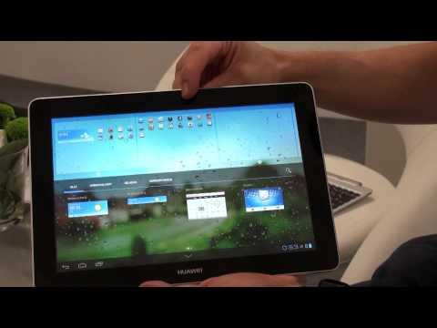 IFA 2012: Huawei MediaPad 10 FHD - Quadcore Tablet-PC Hands-On