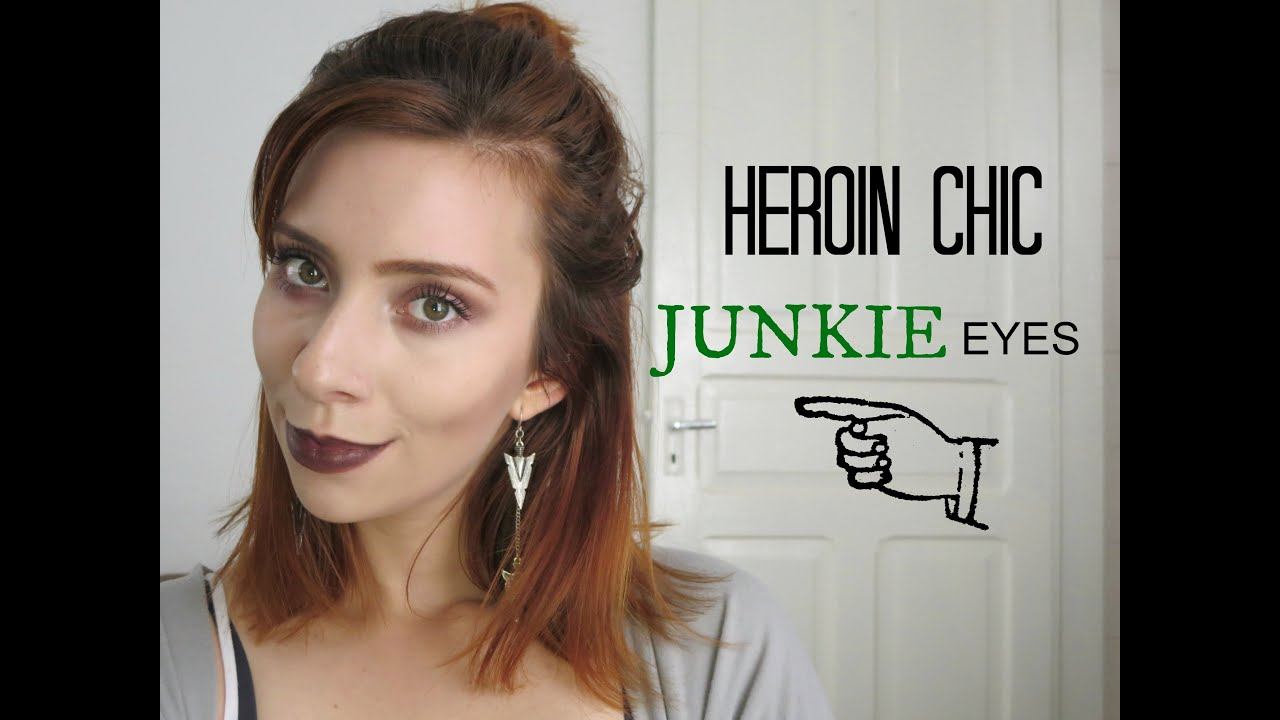 Heroin chic inspired makeup junkie eyes youtube baditri Image collections